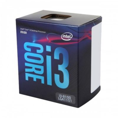 Intel® Core™ i3 8100 8th Gen Processor
