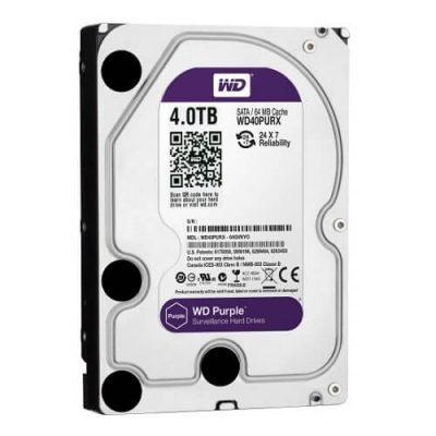 Western Digital 4TB Purple Surveillance HDD best price in Bangladesh